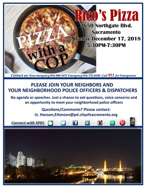 Cops and Pizza