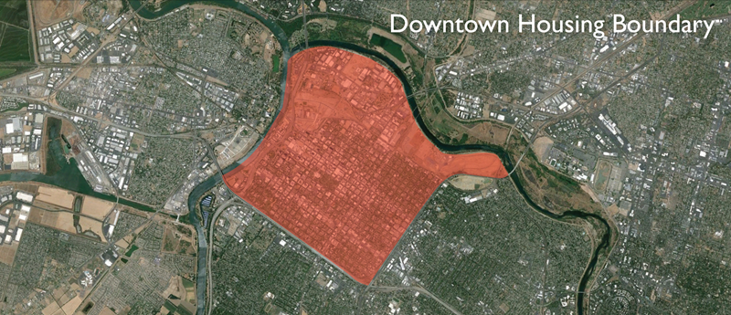 Downtown Housing Boundary