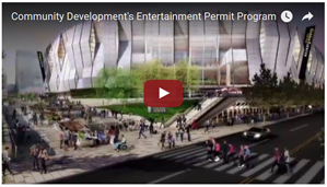 CDD Entertainment Permit Program YouTube thumbnail