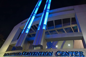 Sacramento Convention Center exterior shot