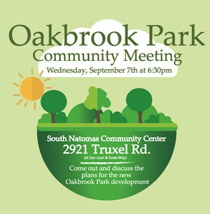 oakbrook park community meeting 9/7/16