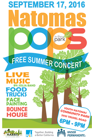 District 3 September Pops in the Park