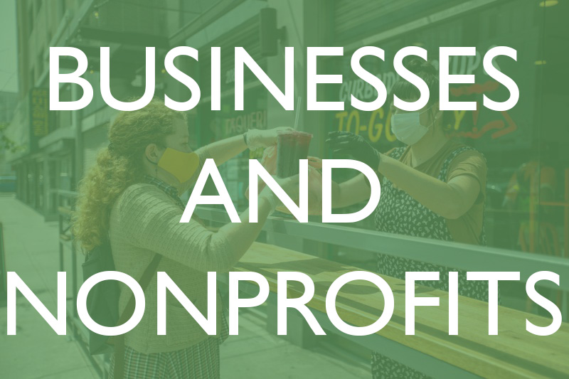 businesses and nonprofits