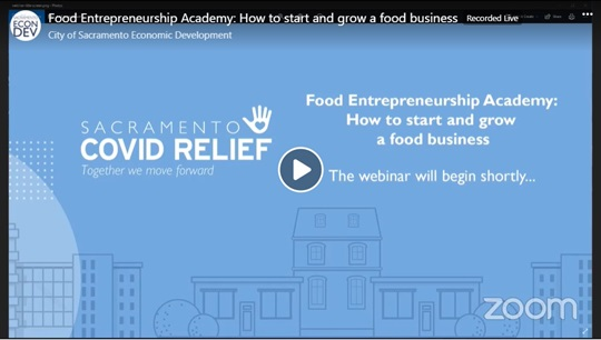 Food Entrepreneurship Video