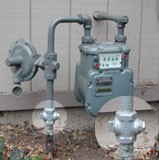 Meter with a highlight on shut off valves