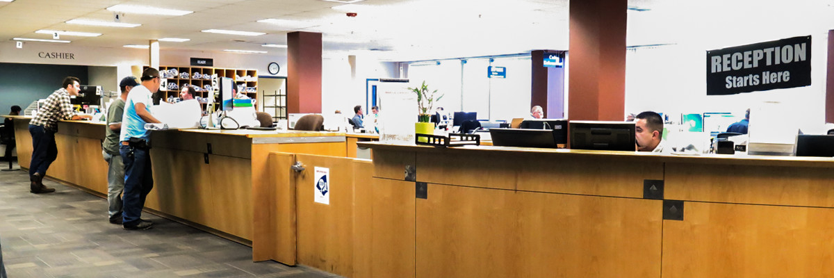 City of Sacramento CDD Public Counter