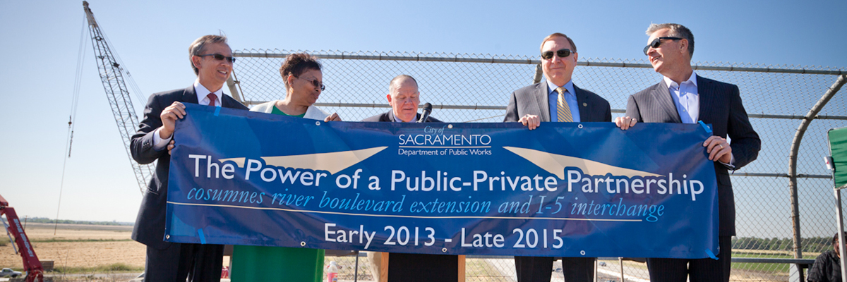 Cosumnes River Blvd. Extension Project Grand Opening, City of Sacramento