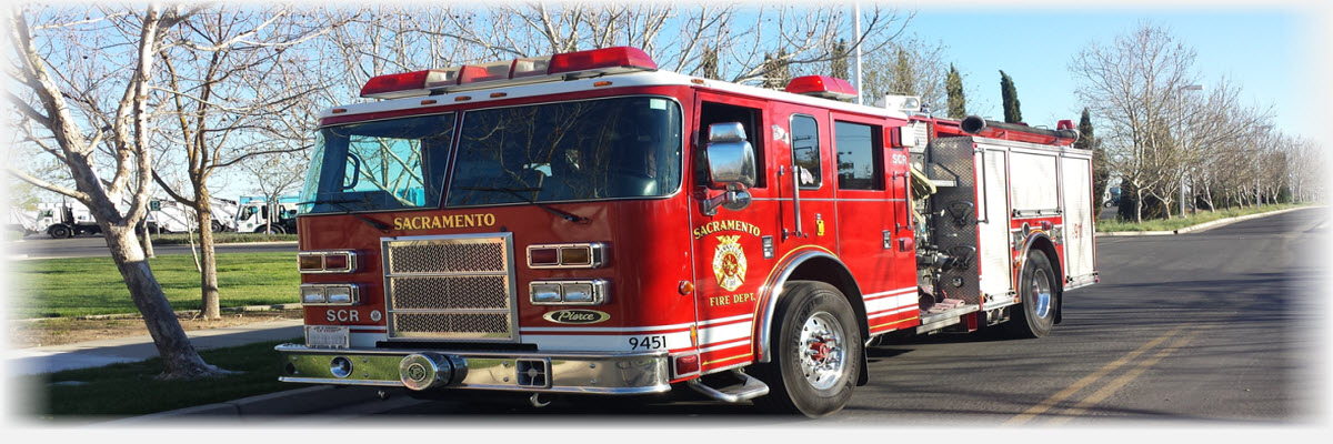 City of Sacramento Fire Engine