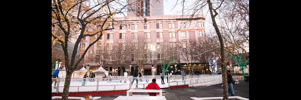 Downtown ice Rink