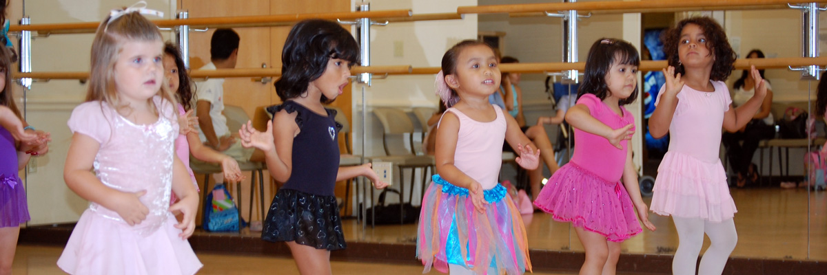 Young Children in a Leisure Dance Class
