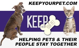 Keep Your Pet Helping Pets and Their People Stay Together