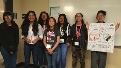 2018 Microsoft DigiGirlz Camp - City of Sacramento - Group App Concept Presentation