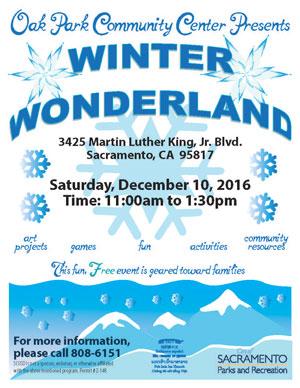 Parks recreation city of sacramento for Winter garden recreation center