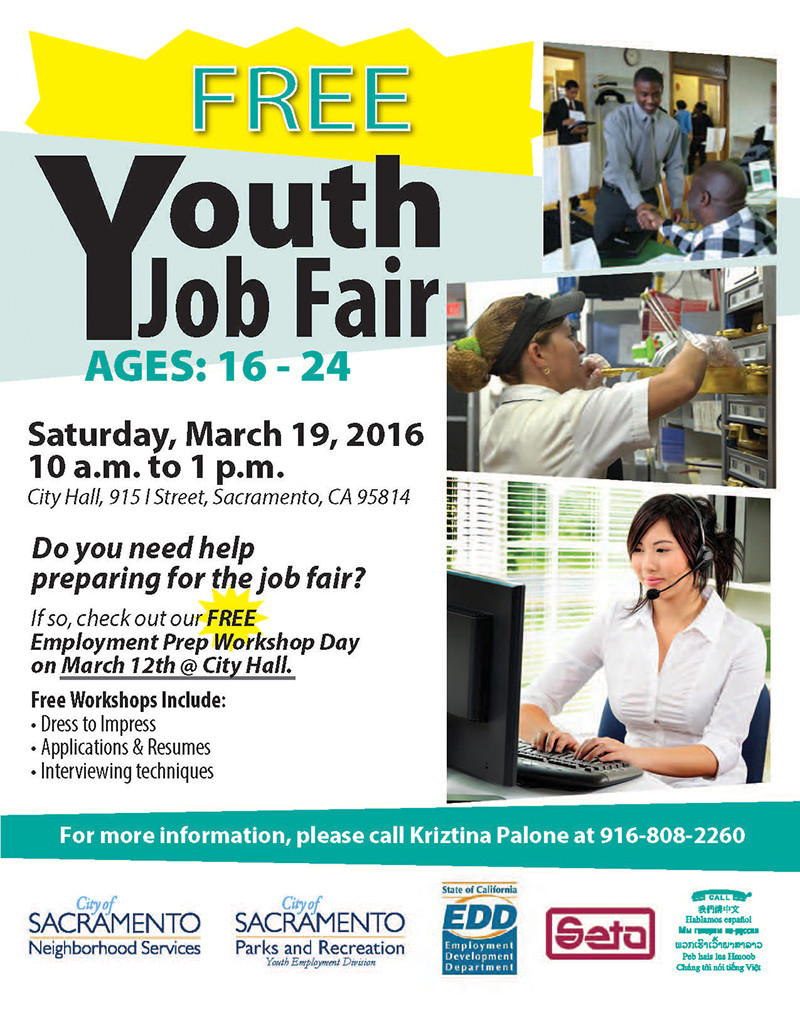 advisory city hosts youth job fair saturday city of 2016 neighborhood services job fair