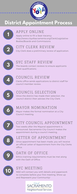 SYC COUNCIL APPOINTMENT