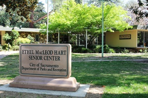 Photo of Hart Senior Center building