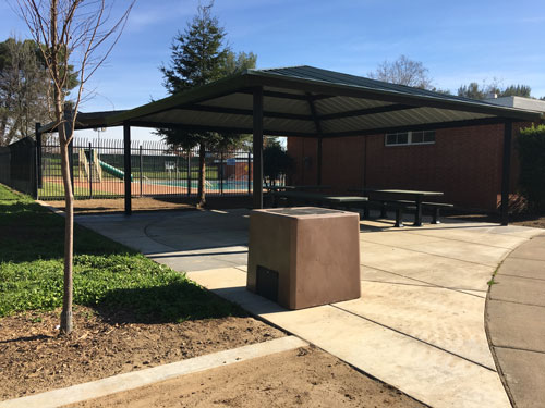 New Shade Structure over existing picnic area