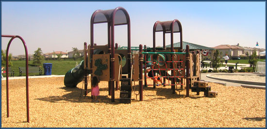 North Natomas Community Park Playground