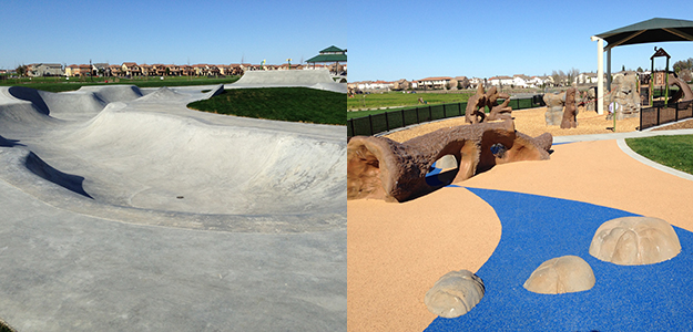 Wild Rose Park Skate Park and Adventure Play Area