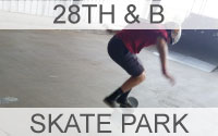 28th and B Skate Park Button Link