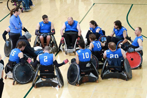The Storm Wheelchair Rugby Team