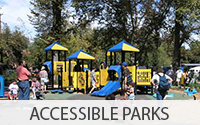 Button Link to Southside Park's Accessible Playground 'Universal Universe'