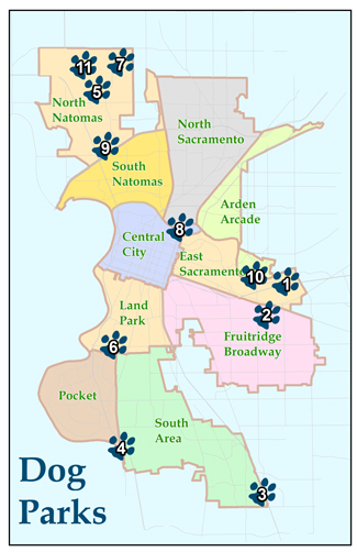 Dog Parks City of Sacramento