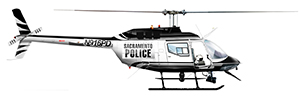Image of police helicopter