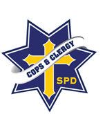 Cops and Clergy logo