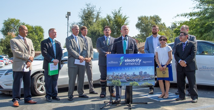 Electrify America Green City