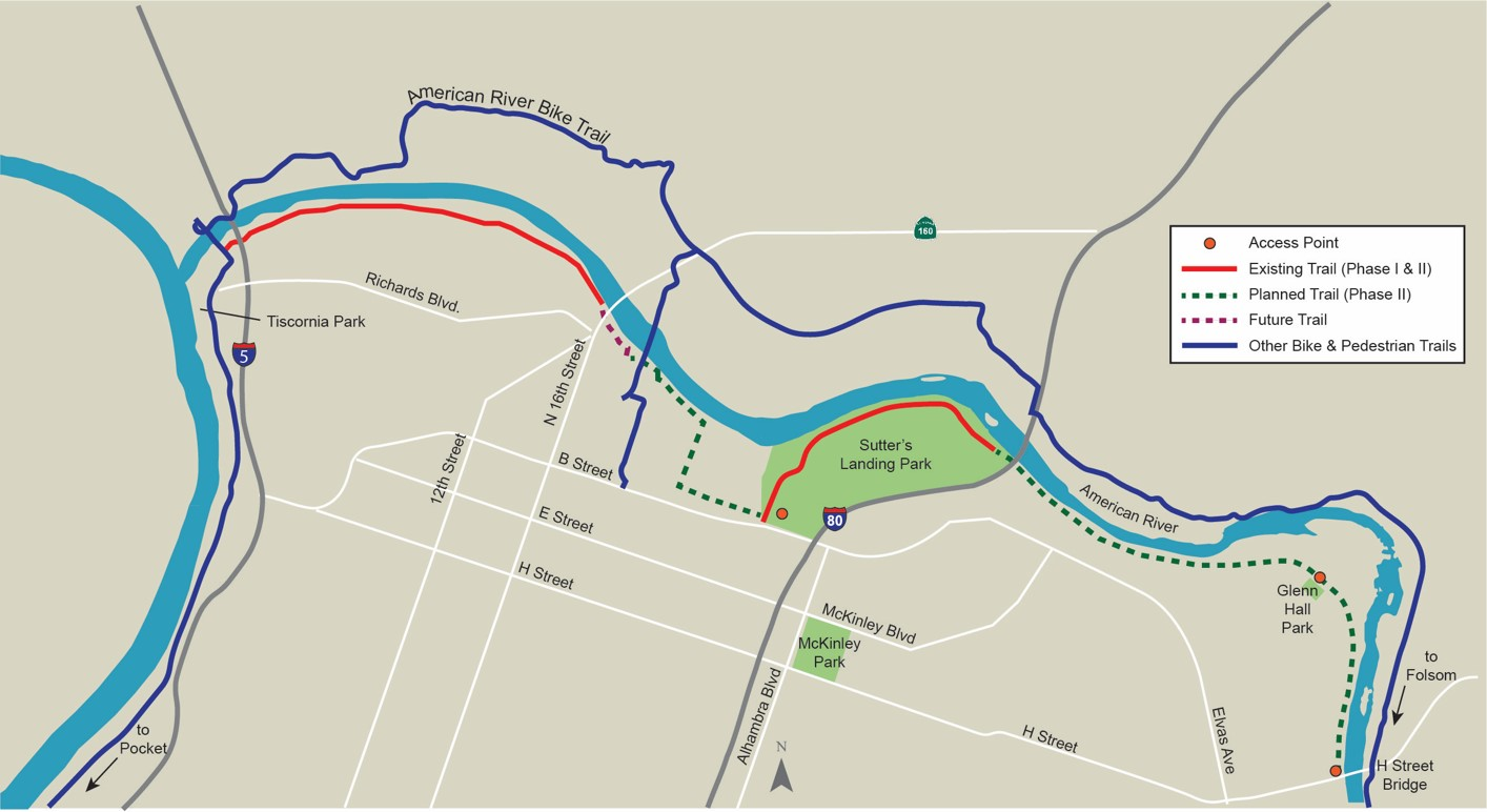 Two Rivers Trail Proposed Map