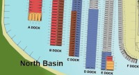 North Basin Marina Map