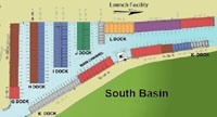 South Basin Marina Map