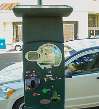 Pay and Display Meter