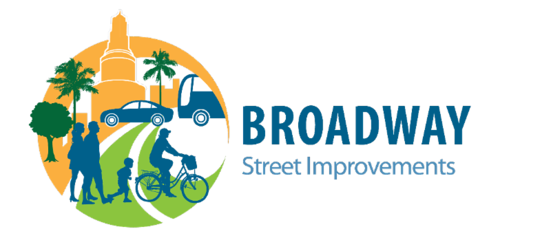 Broadway Street Improvements Logo