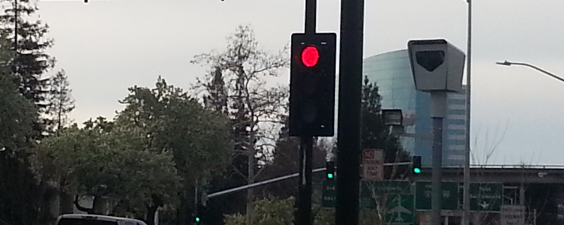 Photo for the red light running page