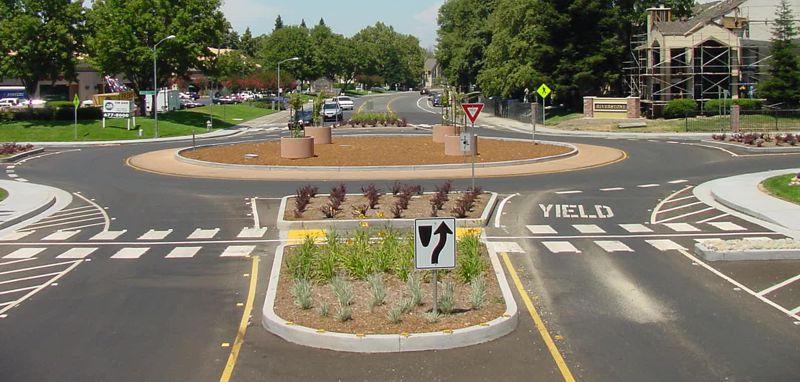 Roundabout Information City Of Sacramento