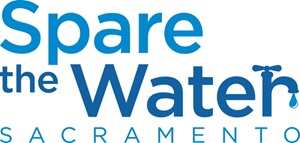 Spare the Water Sacramento Logo