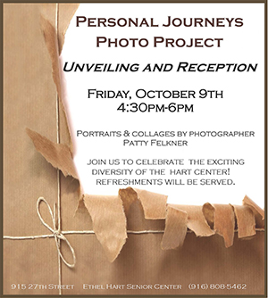 Personal Journeys Photo Project flyer