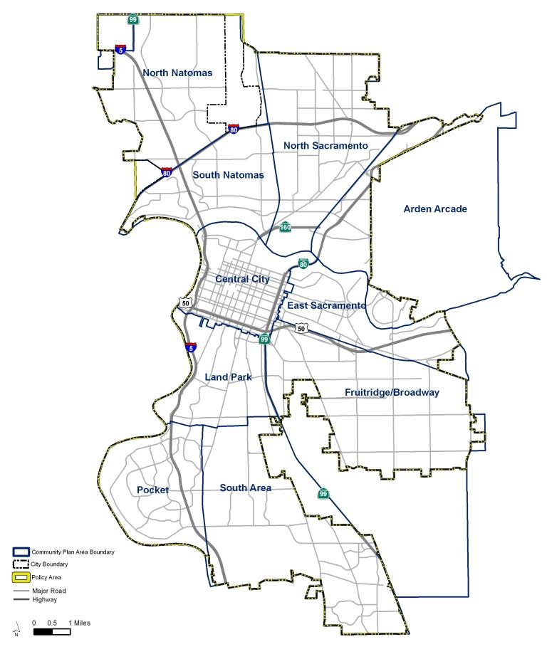 Natomas Basin City Of Sacramento