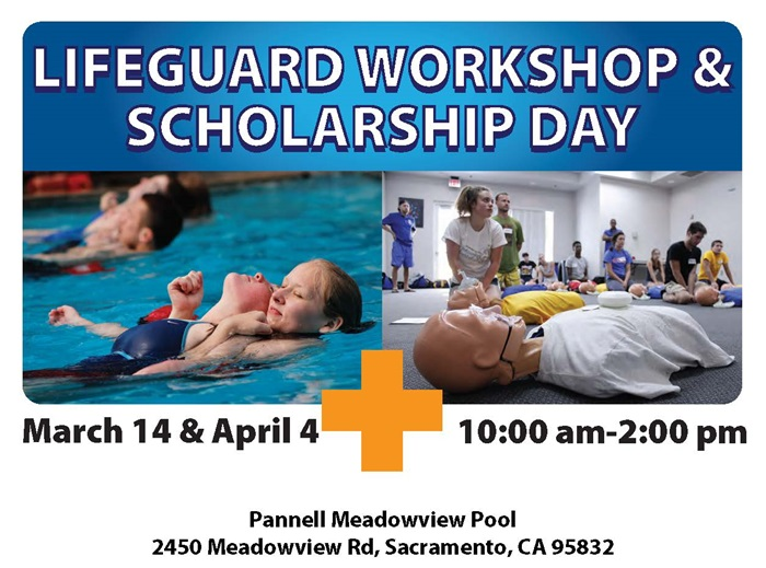 Lifeguard workshop and Scholarship day
