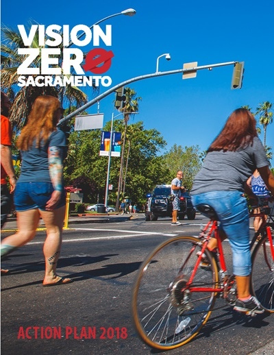 Vision Zero Action Plan Cover