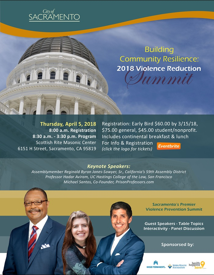 Violence Reduction Summit Flyer