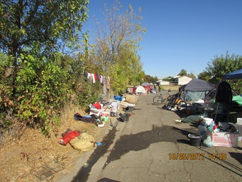 Mack Road Vacant Lot with Junk and Debris