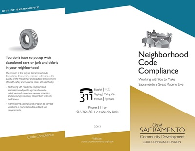 Neighborhood Compliance Brochure Cover