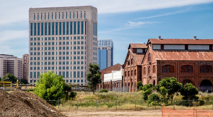 The Railyards Project - City of Sacramento