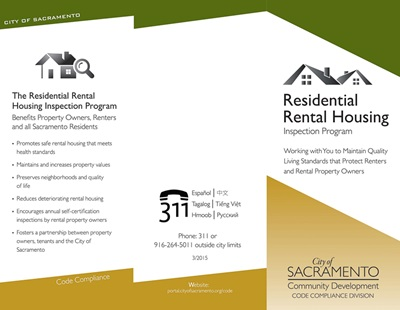 Rental Housing And Inspection Program - City Of Sacramento