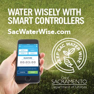 keep Sac water wise made possible by: using less water