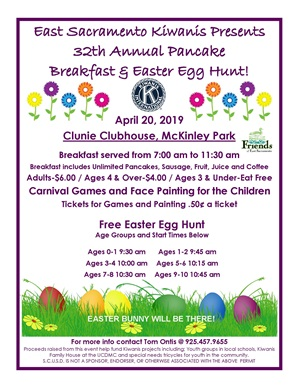 Kiwanis Egg Hunt 2019