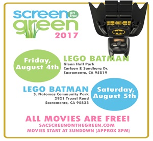 Screen on the green 8/4 and 8/5